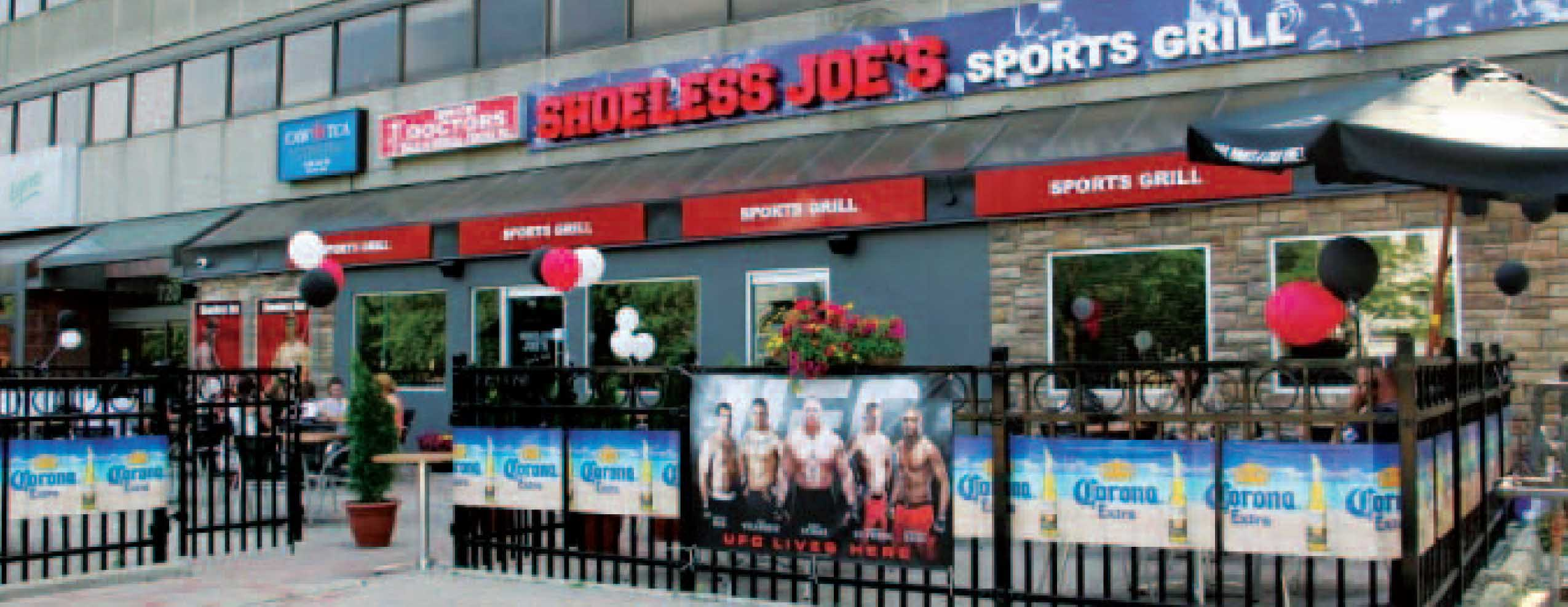 Fully-Fixtured Restaurant – Currently a Shoeless Joes